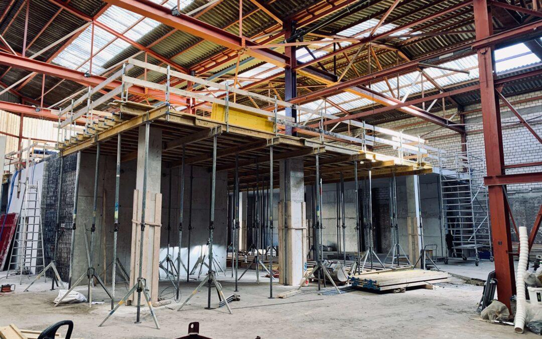 Ausbau Lagerhalle Lyon-Strasse