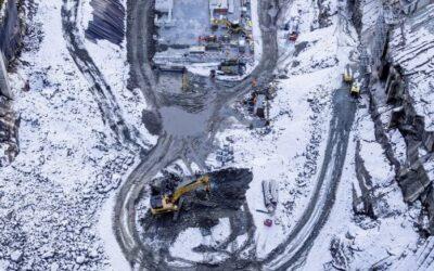 Pioniertat in der Schweiz – Neubau Grimselstaumauer