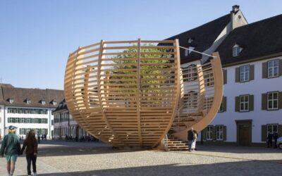 """""""Arena für einen Baum"""" in Basel"""